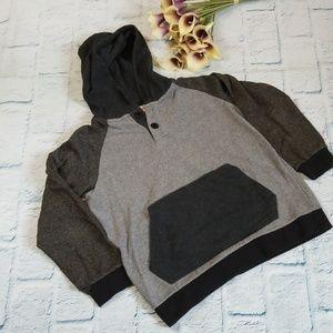 Kids Ruff Hewn Colorblock Hooded Sweatshirt